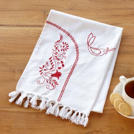 DOVES DE NOEL TEA TOWEL