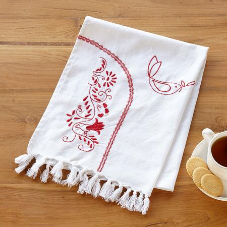 DOVES DE NOEL TEA TOWEL