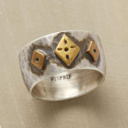 THREE OF DIAMONDS RING