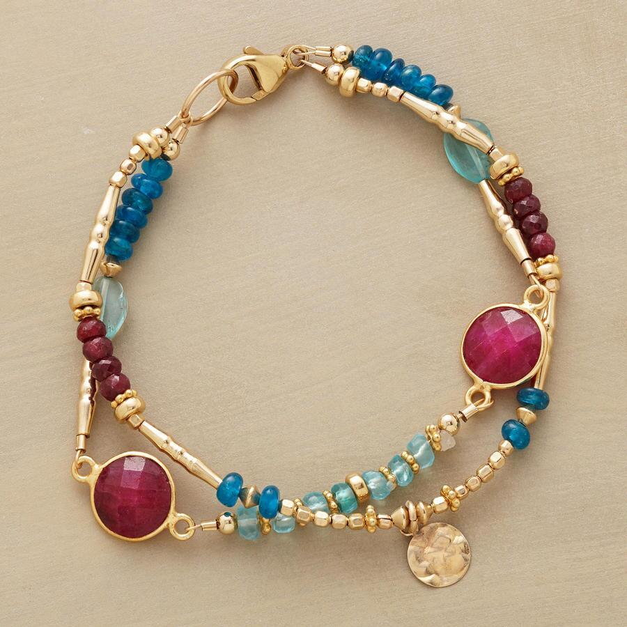 RUBY BLUES BRACELET