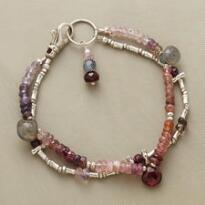 PURPLE PROCESSION BRACELET
