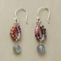 PURPLE PROCESSION EARRINGS