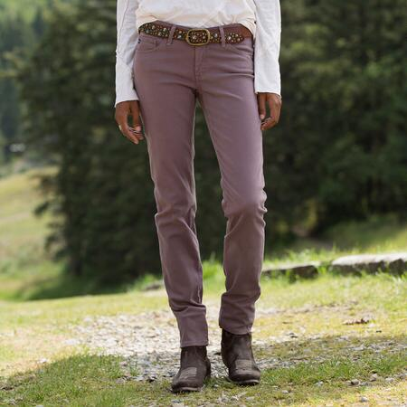 A G DUSTY HEATHER STILT JEANS