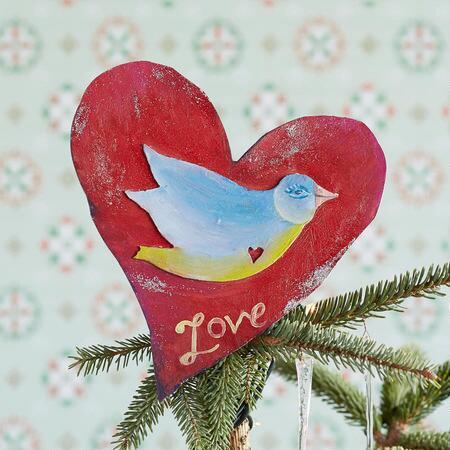 LOVE DOVE TREE TOPPER