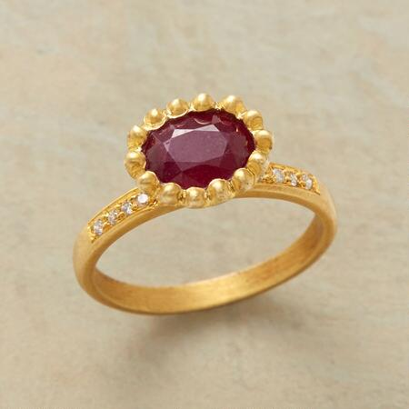 REGAL RUBY RING