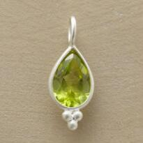 TREFOIL BIRTHSTONE CHARMS