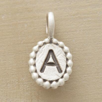 SILVER INITIAL CHARMS
