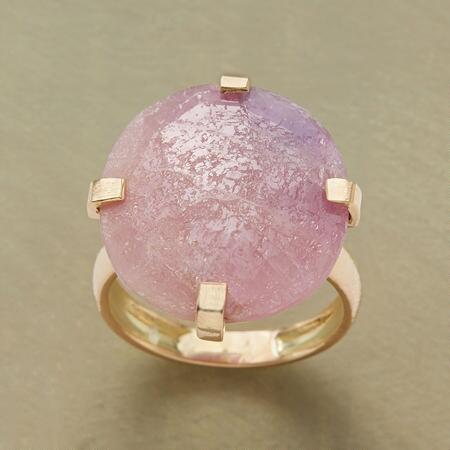 PINK PLATEAU RING