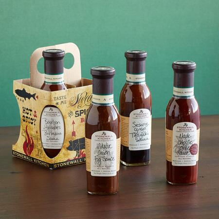 GRILL SAUCES, SET OF 4