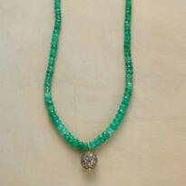 EMERALD MIRAGE NECKLACE