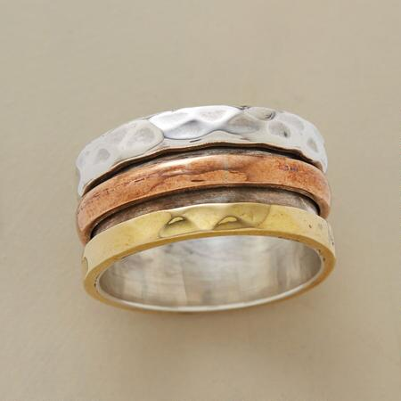 Your merry go round ring will bring a bright warmth to each day you wear it.