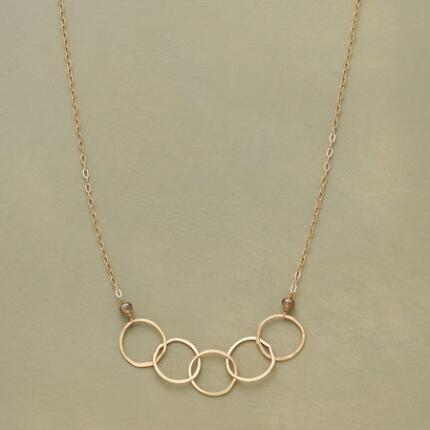 RINGS OF FIRE NECKLACE