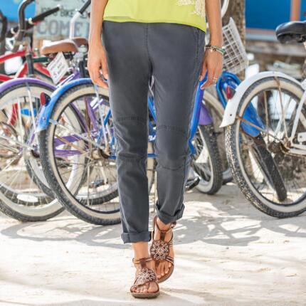 CLEAN FRONT SAFARI PANTS