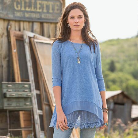 ALCHEMY TUNIC SOLID PETITE