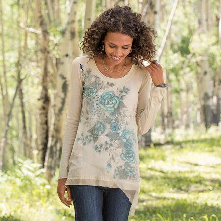 TWILIGHT GARDEN TUNIC