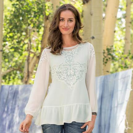 ANNABELLE EMBROIDERED TUNIC
