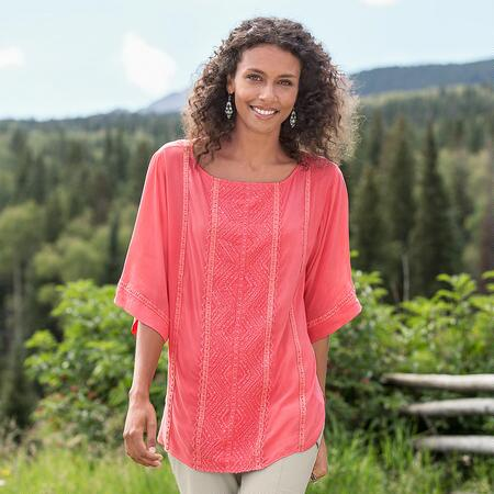 MORNING LIGHT TUNIC PETITES