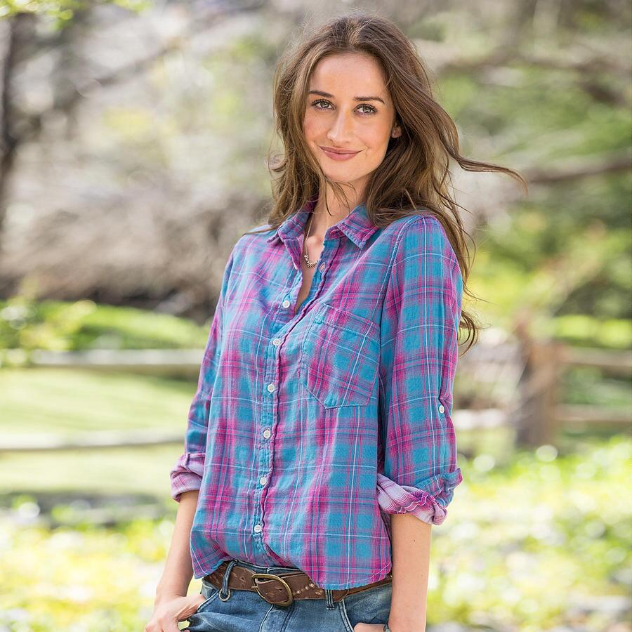 Joyful Plaid Shirt