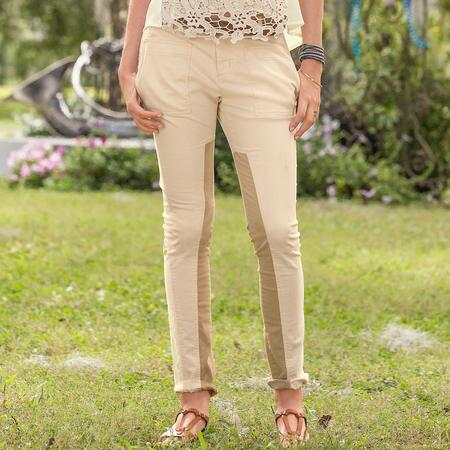 CENTURY PATCHED PANT PETITE