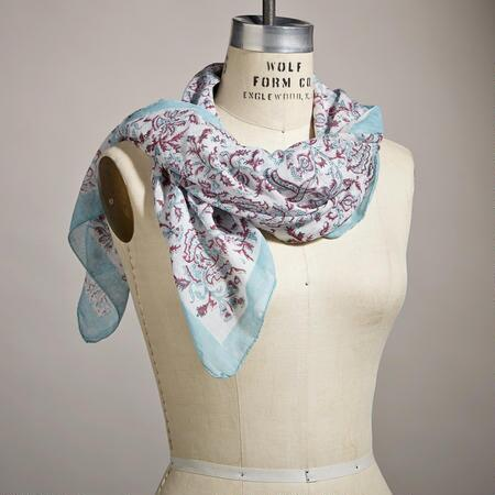 PONDICHERRY BANDANA SCARF