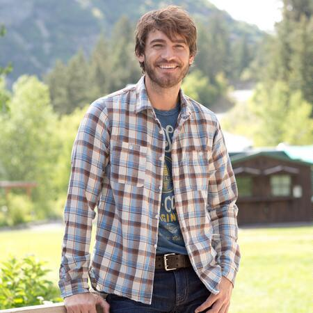 CHAD PLAID FLANNEL SHIRT