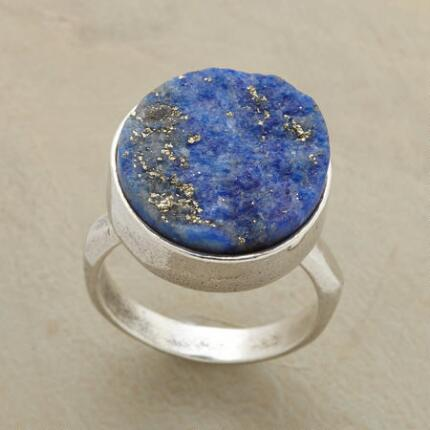 WILD BLUE BEAUTY RING