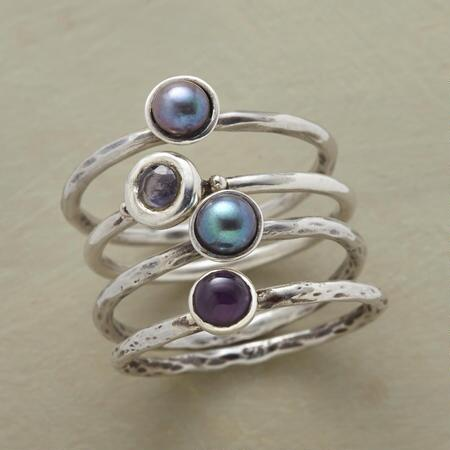 POINT OF VIEW RINGS S/4