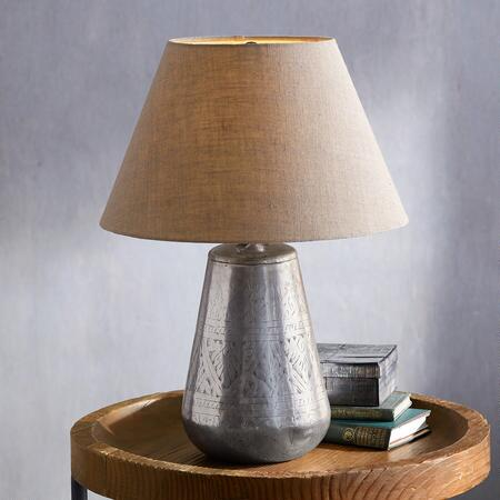 TRACERY ETCHED LAMP