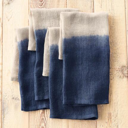 INKWELL NAPKINS, SET OF 4