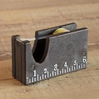 FOR GOOD MEASURE TAPE DISPENSER & RULER
