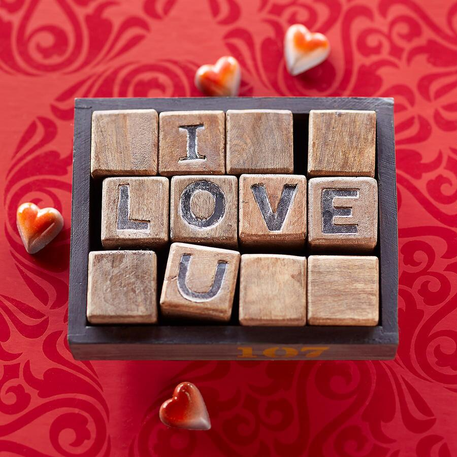 I LOVE YOU BLOCKS