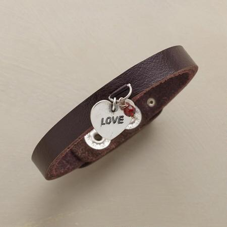 ONE LOVE LEATHER BRACELET