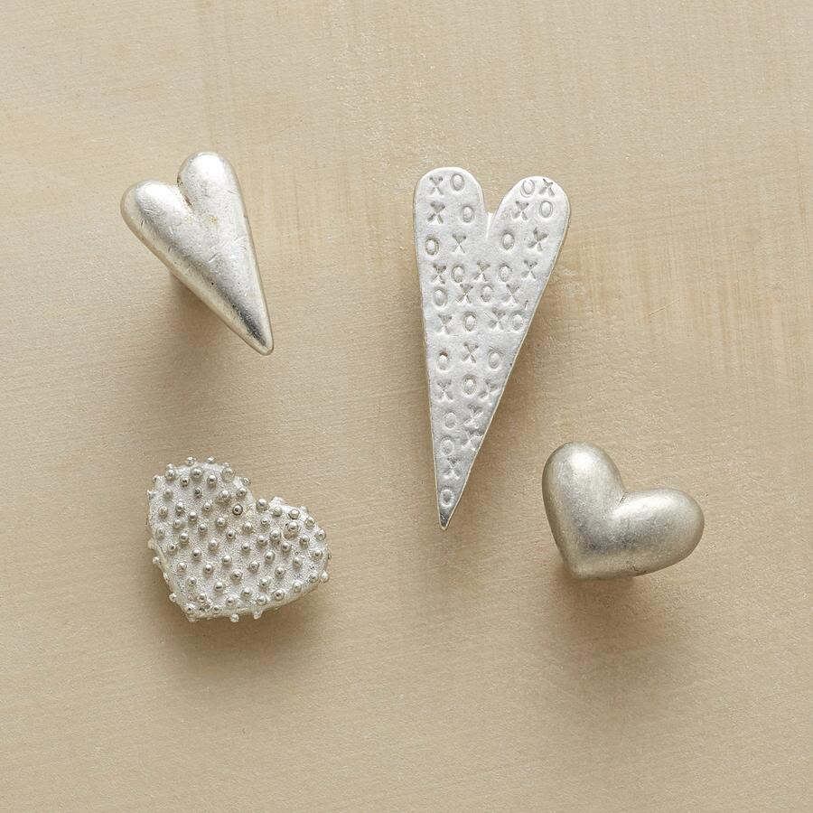 LOVE NOTES MAGNETS, SET OF 4