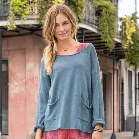 SIMPLE PLEASURES PULLOVER