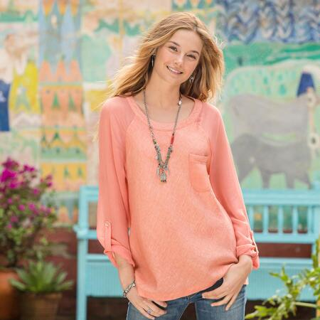 Tranquil Beauty Tunic - Petites