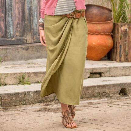 SERENGETI WRAP SKIRT