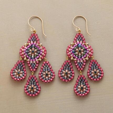 PAMPLONA BEADED EARRINGS