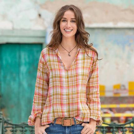 JOI PLAID SHIRT