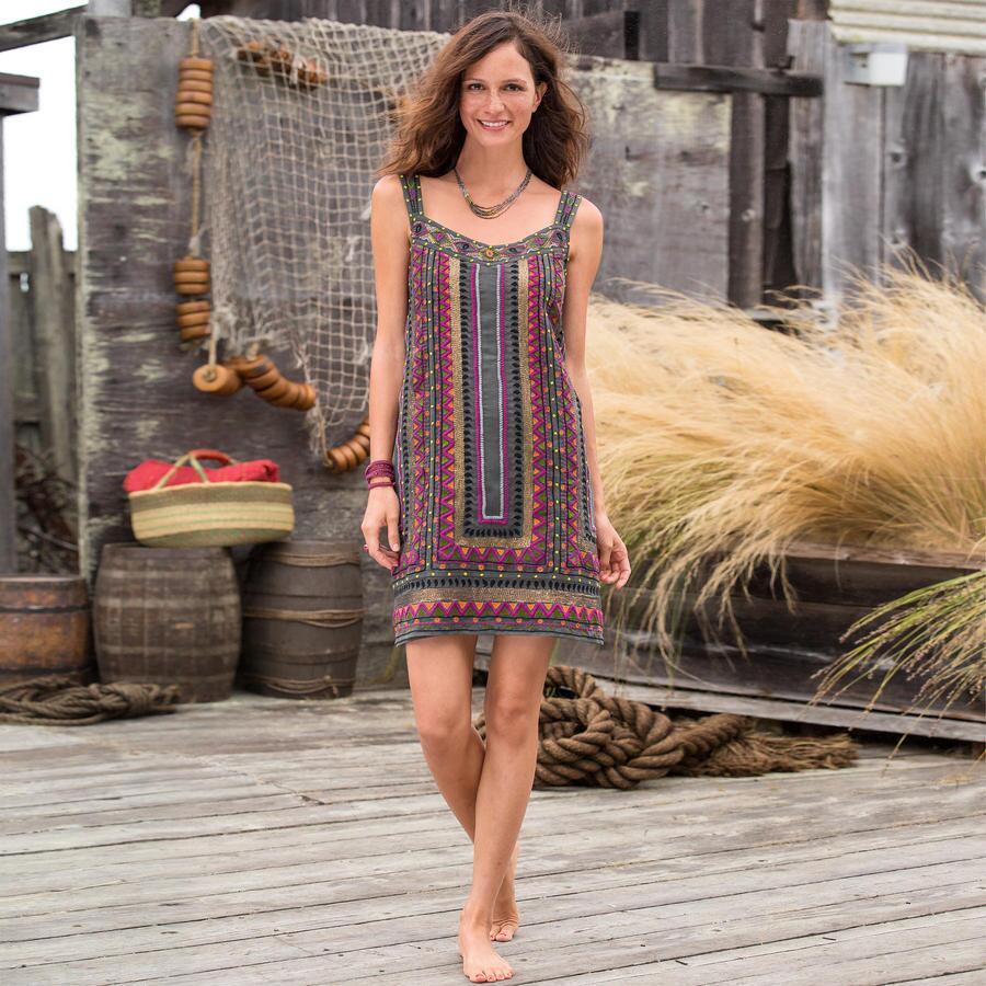 MAYA HIGHLANDS TUNIC DRESS