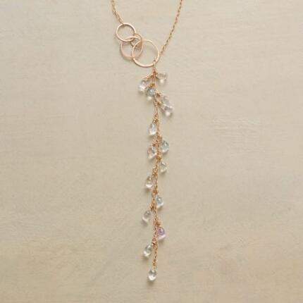 TRAIL OF SAPPHIRES NECKLACE