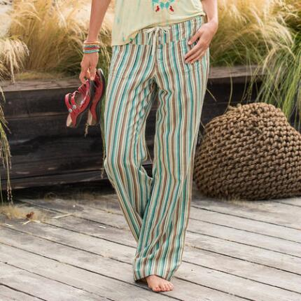 EDGEWATER STRIPED PANTS
