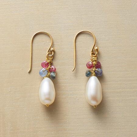 PEARL COCOON EARRINGS
