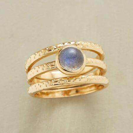 OVERLAPPING RING TRIO S/3