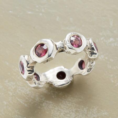 Almandine Garnet Ring