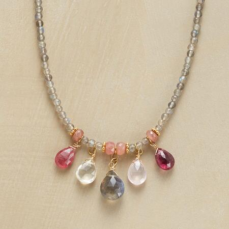FIVE IN A ROW NECKLACE