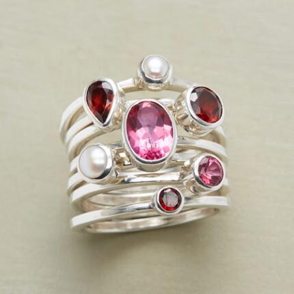 CORPS DE BALLET STACKING RINGS S/7