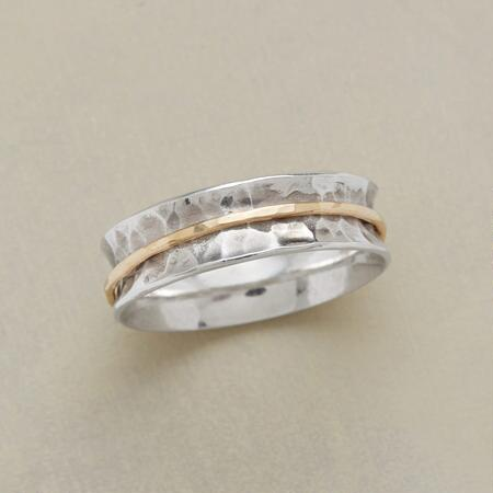 RIPPLING STREAM RING