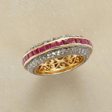 RUBY CHANNEL RING
