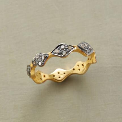 DIAMONDS ON DIAMONDS RING