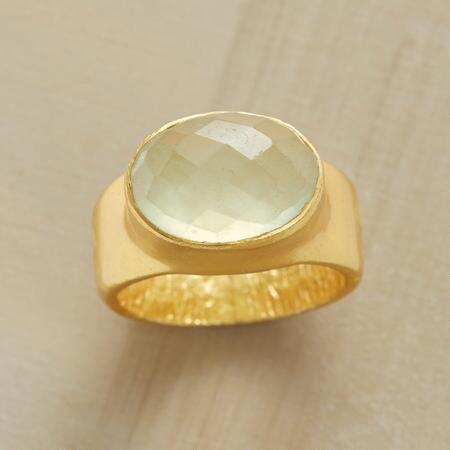 PREHNITE RAINBOW RING